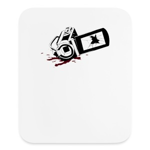 Haunted Camera Buttons - Small - Mouse pad Vertical