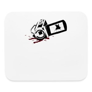 Haunted Camera Buttons - Small - Mouse pad Horizontal