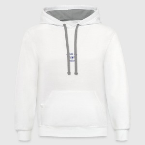 unfuck the world Bottles & Mugs - Contrast Hoodie