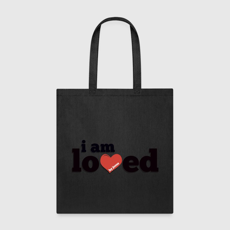 I am Loved by Jesus Tote Bag - Tote Bag