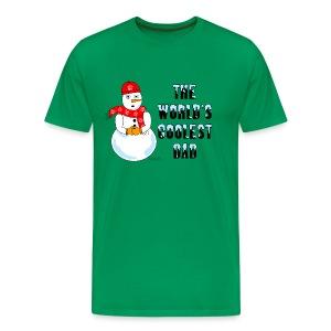 World's Coolest Dad - Men's Premium T-Shirt