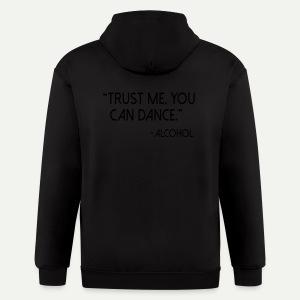 Trust Me - Men's Zip Hoodie