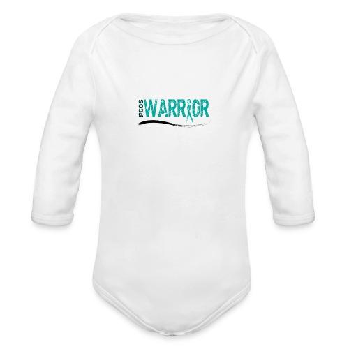PCOS Warrior Pins (5pc) - Organic Long Sleeve Baby Bodysuit