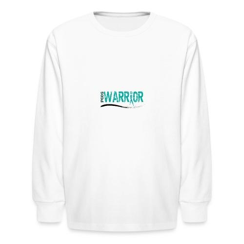 PCOS Warrior Pins (5pc) - Kids' Long Sleeve T-Shirt
