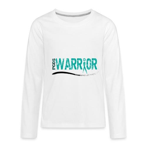 PCOS Warrior Pins (5pc) - Kids' Premium Long Sleeve T-Shirt