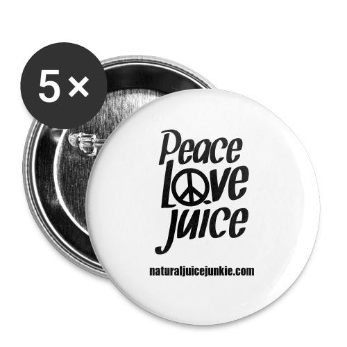 Peace Love Juice - Men's Tee - Large Buttons