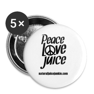 Peace Love Juice - Men's Tee - Small Buttons