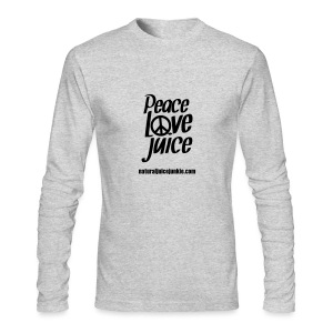 Peace Love Juice - Men's Tee - Men's Long Sleeve T-Shirt by Next Level