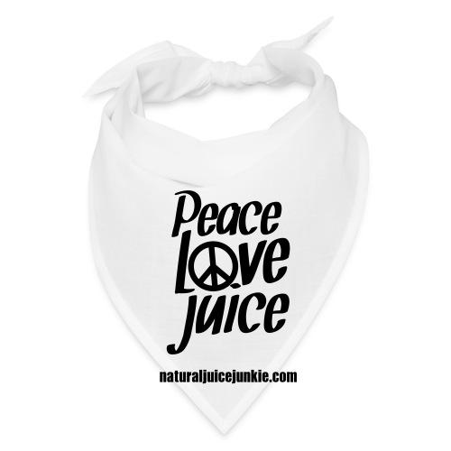 Peace Love Juice - Men's Tee - Bandana