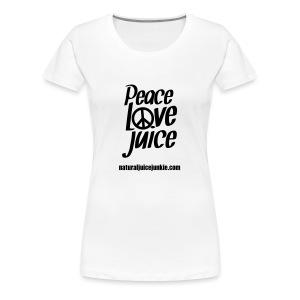 Peace Love Juice - Men's Tee - Women's Premium T-Shirt