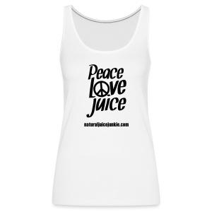 Peace Love Juice - Men's Tee - Women's Premium Tank Top