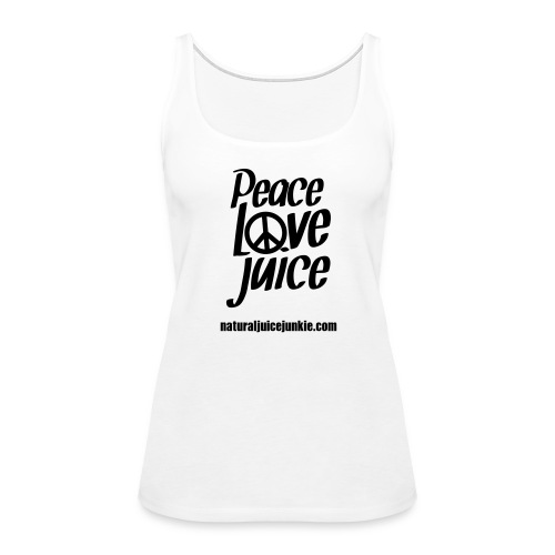 Peace Love Juice - Men's Tee - Women's Premium Tank Top