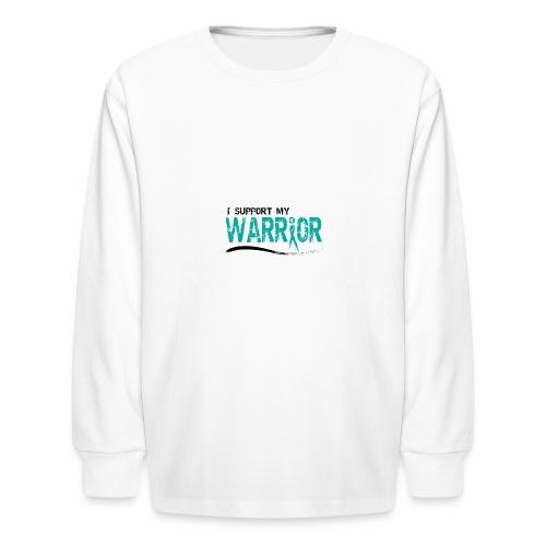 iSupport Travel Mug - Kids' Long Sleeve T-Shirt