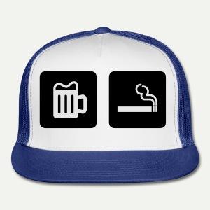 Beer & Smoke - Trucker Cap