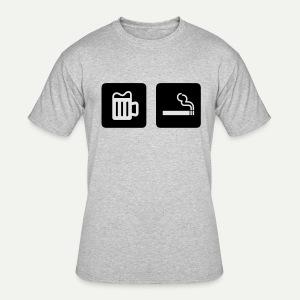 Beer & Smoke - Men's 50/50 T-Shirt