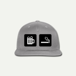 Beer & Smoke - Snap-back Baseball Cap