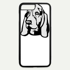 Basset Hound - iPhone 7 Plus/8 Plus Rubber Case