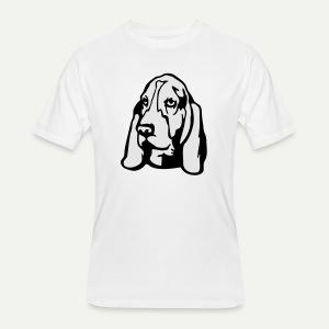 Basset Hound - Men's 50/50 T-Shirt