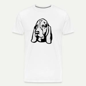 Basset Hound - Men's Premium T-Shirt