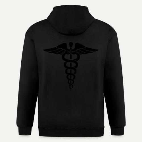 Medical Symbol - Men's Zip Hoodie