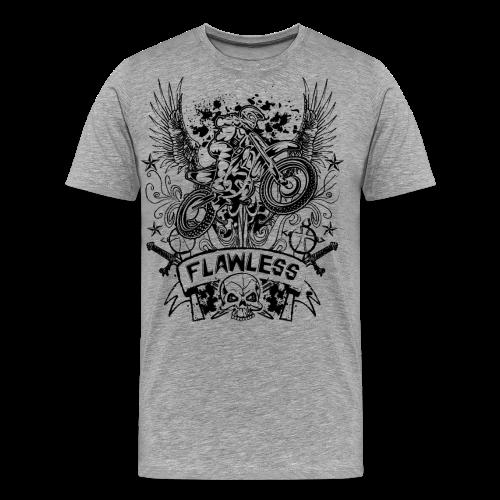 Flawless Dirt Bike Shirt - Men's Premium T-Shirt
