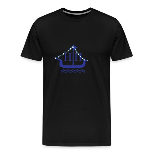 Boat Parade Hanukkah - Men's Premium T-Shirt