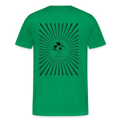 Mushroom Starburst - Men's Premium T-Shirt