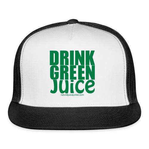 Drink Green Juice - Men's Ringer Tee - Trucker Cap