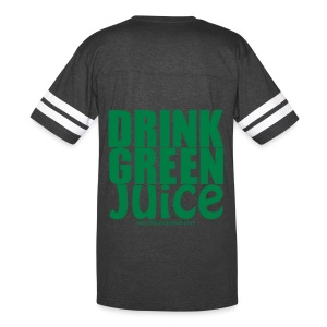Drink Green Juice - Men's Ringer Tee - Vintage Sport T-Shirt