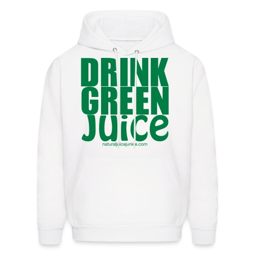 Drink Green Juice - Men's Ringer Tee - Men's Hoodie