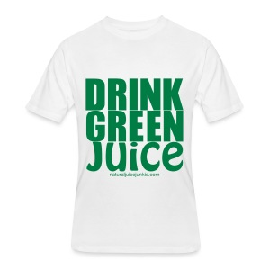 Drink Green Juice - Men's Ringer Tee - Men's 50/50 T-Shirt