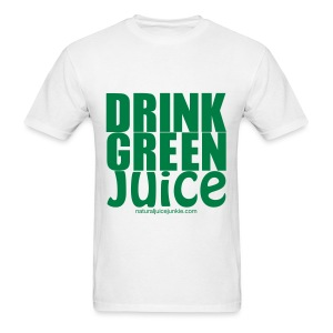 Drink Green Juice - Men's Ringer Tee - Men's T-Shirt