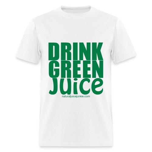 Drink Green Juice - Men's Ringer Tee - Men's T-Shirt