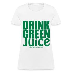 Drink Green Juice - Men's Ringer Tee - Women's T-Shirt