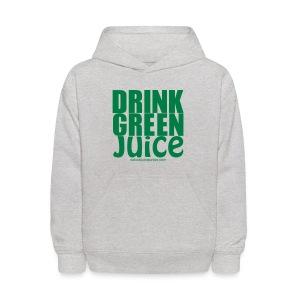 Drink Green Juice - Men's Ringer Tee - Kids' Hoodie