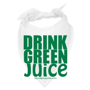 Drink Green Juice - Men's Ringer Tee - Bandana