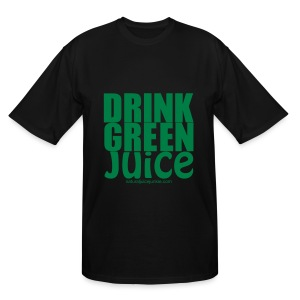 Drink Green Juice - Men's Ringer Tee - Men's Tall T-Shirt