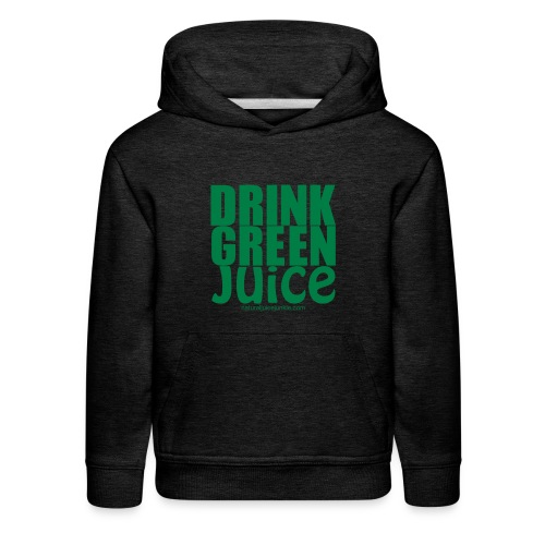 Drink Green Juice - Men's Ringer Tee - Kids' Premium Hoodie