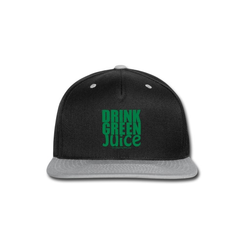 Drink Green Juice - Men's Ringer Tee - Snap-back Baseball Cap