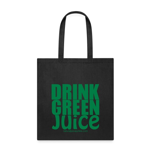 Drink Green Juice - Men's Ringer Tee - Tote Bag