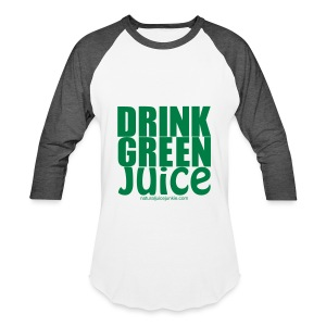 Drink Green Juice - Men's Ringer Tee - Baseball T-Shirt