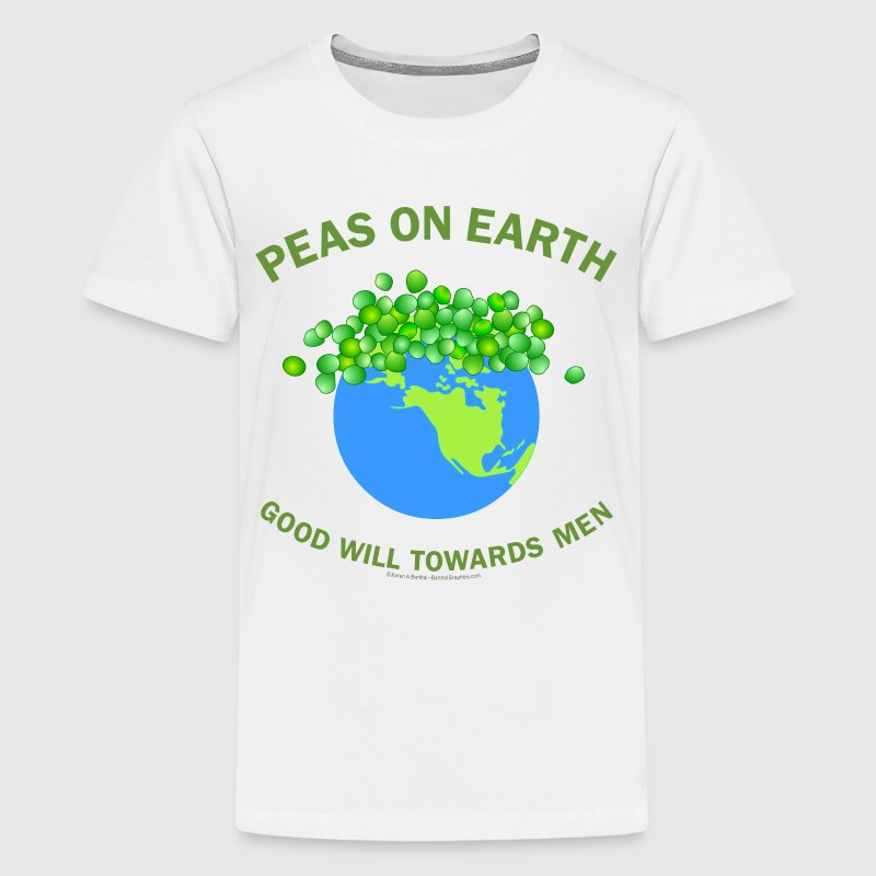 Peas On Earth Kids' Shirts - Kids' Premium T-Shirt