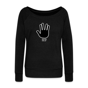 Live Long and Prosper - Women's Wideneck Sweatshirt