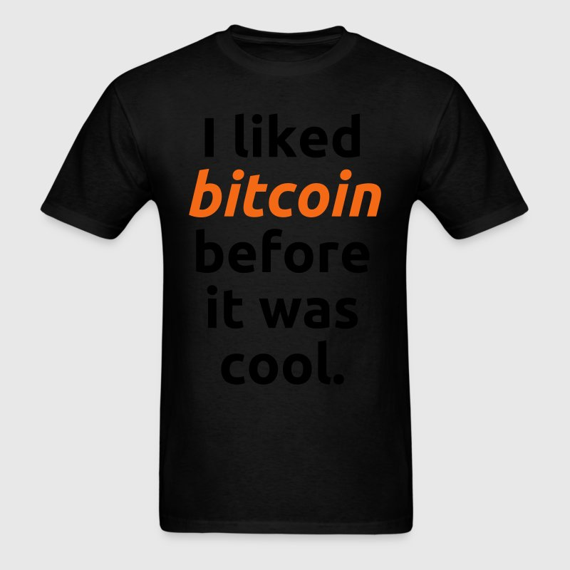 Bitcoin Cool Nerd - Men's T-Shirt