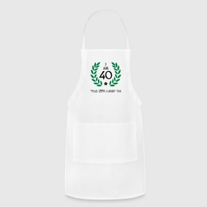 50 - 40 plus tax Women's T-Shirts - Adjustable Apron