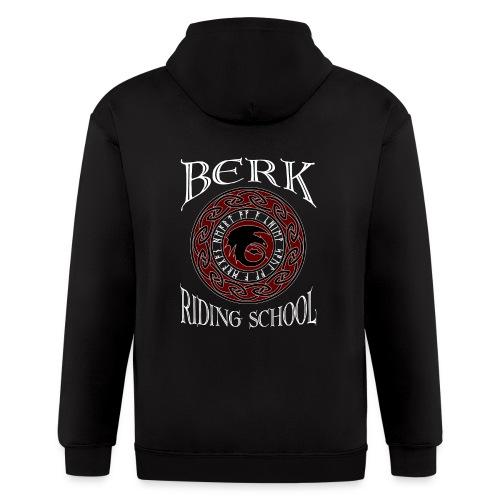 Berk Riding School - Men's Zip Hoodie