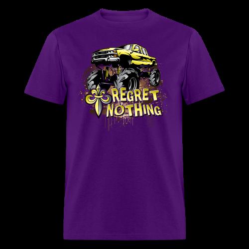 Mud Trucks Regret Nothing - Men's T-Shirt
