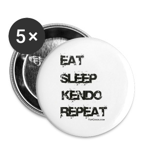 Eat Sleep Kendo Repeat - Women's - Small Buttons