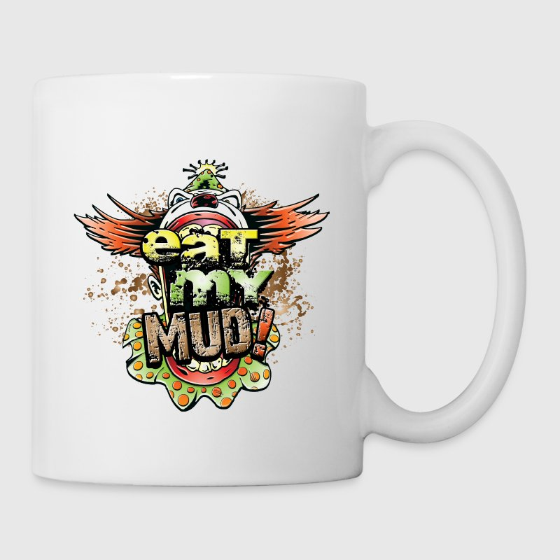 Eat My Mud Clown Bottles & Mugs - Coffee/Tea Mug