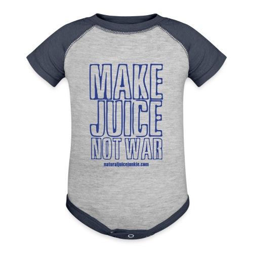 Make Juice Not War (Women's Tee) - Baby Contrast One Piece